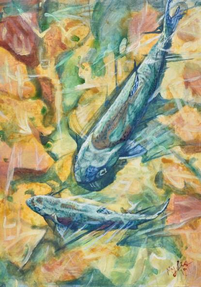 Two Fish, Blue Fish